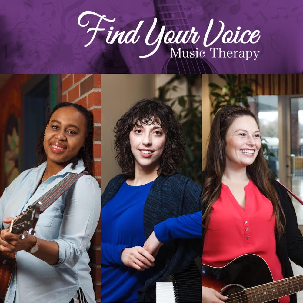 Find Your Voice Music Therapy Team. Kingston, Ontario. Halifax, Nova Scotia. Accredited Music Therapists. Neurologic Music Therapists. Registered Counselling Therapists.