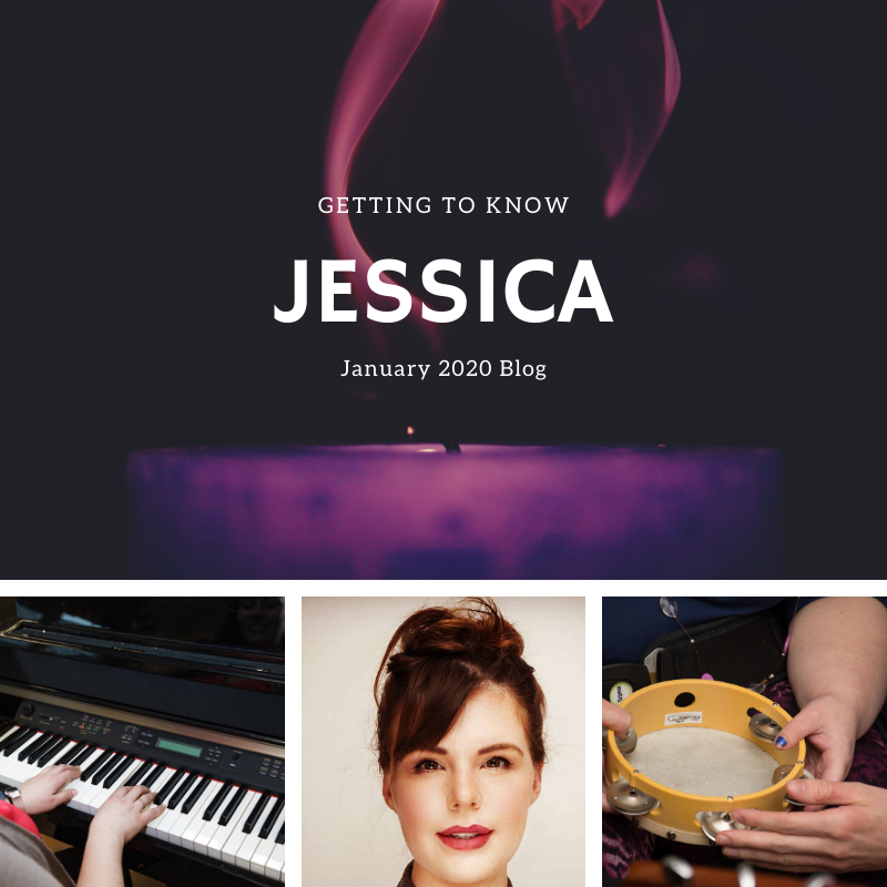 Jessica Nielsen. Music Therapist. Kingston, Ontario.
